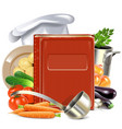 Cooking Book vector image