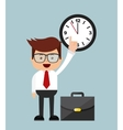 businessman activity design vector image