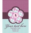 Beautiful colorful invitation vector image vector image