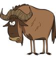 wildebeest vector image vector image