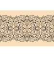 Seamless lace ribbon vector image vector image