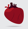 health problem with heart disease isolated vector image