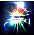 Explosion abstract background vector image