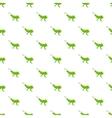 Grasshopper pattern cartoon style vector image