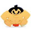 sumo wrestler vector image vector image