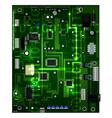 motherboard vector image