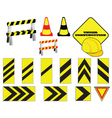 road works vector image vector image