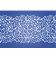 Seamless lace ribbon vector image