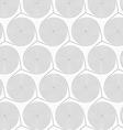 Slim gray merging spirals vector image