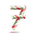 7 number seven 3d number sign figure 7 vector image