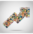Concept of attracting customers vector image
