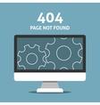 Error page vector image