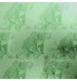 vintage of green watercolor koala bears patt vector image