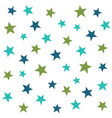 abstract stars seamless pattern vector image vector image