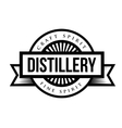 Distillery vintage logo vector image