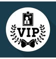 VIP design Exclusive concept Flat vector image