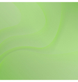 green background with waves vector image