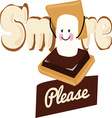 Smore Please vector image