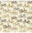 Vintage bikes vector image