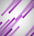 Abstract background with purple straight lines vector image vector image