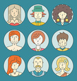 Colorful People vector image