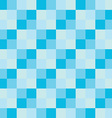 popular blue sky sea color tone checker chess vector image