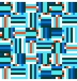 Digital blue pattern vector image