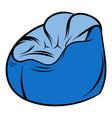 flexible chair icon cartoon vector image