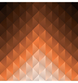 Geometric brown Background vector image