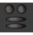 button with paragraph vector image