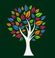 Happy Color Tree vector image vector image