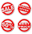 Sales sticker vector