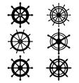 rudders vector image