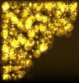 Shining Spotlights Nightclub Party Card vector image