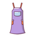 girl dress icon cartoon style vector image