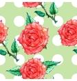 polka dot ornament vector image