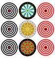 Targets Set vector image