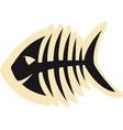 Good Fish Skeleton vector image