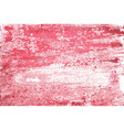 red watercolor background vector image