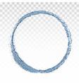 water splash circle eps 10 vector image