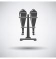 Soda siphon equipment icon vector image