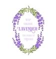 The lavender elegant card vector image vector image