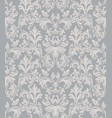 baroque ornament pattern background vector image
