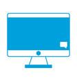 Computer icon imag vector image