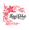 happy holiday design vector image