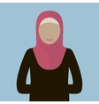 Muslim Woman Icon vector image