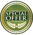 special offer icon vector image vector image