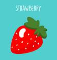 strawberry banana smoothie recipe vector image