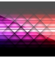 Abstract background with colored lines on paper vector image