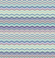 Cool Toned Chevron Seamless Wallpaper vector image